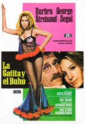 Cartel oficial en español de: La gatita y el buho
