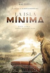 Cartel oficial en español de: La isla mínima