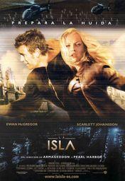 Cartel oficial en español de: La isla (2005)