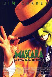 Cartel oficial en español de: La máscara