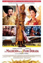 Cartel oficial en español de: La maldición de la flor dorada