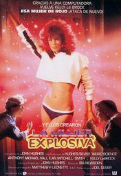 Cartel oficial en español de: La mujer explosiva
