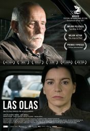 Cartel oficial en español de: Las olas