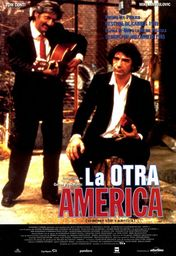 Cartel oficial en español de: La otra américa