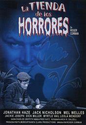 Cartel oficial en español de: La tienda de los horrores (1960)