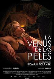 Cartel oficial en español de: La Venus de las pieles