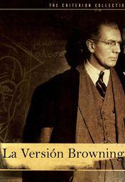 Cartel oficial en español de: La versión Browning (1951)