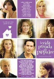 Cartel oficial en español de: La vida privada de Pippa Lee