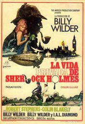 Cartel oficial en español de: La vida privada de Sherlock Holmes