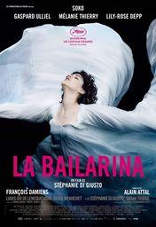 Cartel oficial en español de: La bailarina
