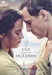 Cartel oficial en español de: La luz entre los océanos
