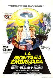 Cartel oficial en español de: La montaña embrujada (1975)