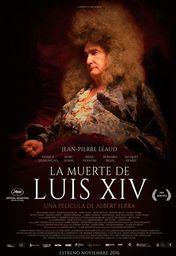 Cartel oficial en español de: La muerte de Luis XIV