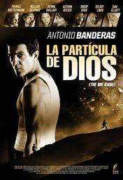 Cartel oficial en español de: La partícula de Dios