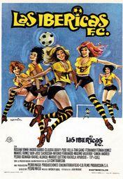 Cartel oficial en español de: Las Ibéricas F.C.