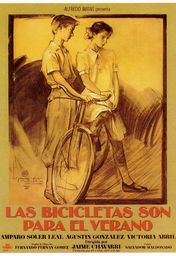 Cartel oficial en español de: Las bicicletas son para el verano