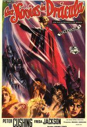 Cartel oficial en español de: Las novias de Drácula
