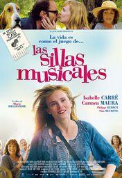 Cartel oficial en español de: Las sillas musicales