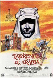 Cartel oficial en español de: Lawrence de Arabia