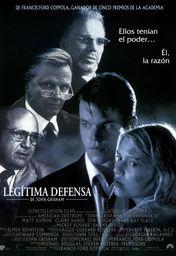 Cartel oficial en español de: Legítima defensa