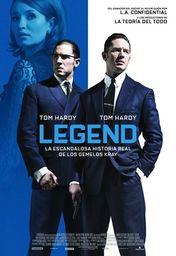 Cartel oficial en español de: Legend