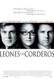 Cartel oficial en español de: Leones por corderos