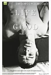 Cartel oficial en español de: Life Feels Good