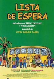 Cartel oficial en español de: Lista de espera