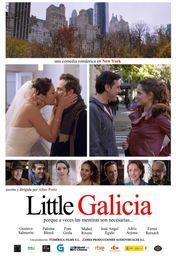 Cartel oficial en español de: Little Galicia