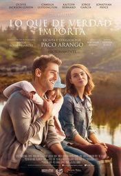 Cartel oficial en español de: Lo que de verdad importa