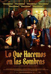 Cartel oficial en español de: Lo que hacemos en las sombras