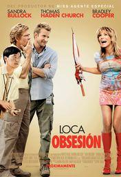 Cartel oficial en español de: Loca obsesión