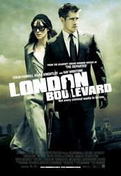 Cartel oficial en español de: London Boulevard