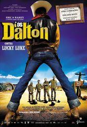 Cartel oficial en español de: Los Dalton contra Lucky Luke
