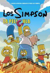 Cartel oficial en español de: Los Simpson. La película