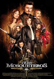 Cartel oficial en español de: Los tres mosqueteros (2011)
