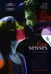 Cartel oficial en español de: Los cinco sentidos