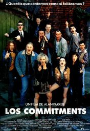 Cartel oficial en español de: Los commitments