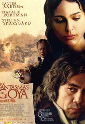 Cartel oficial en español de: Los fantasmas de Goya