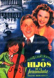 Cartel oficial en español de: Los hijos de la farándula