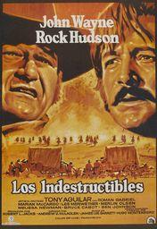 Cartel oficial en español de: Los indestructibles