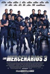 Cartel oficial en español de: Los mercenarios 3