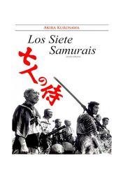 Cartel oficial en español de: Los siete samuráis