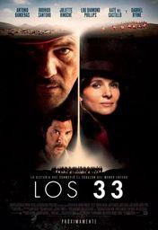 Cartel oficial en español de: Los 33