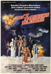 Cartel oficial en español de: Los siete magníficos del espacio