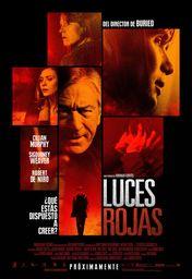 Cartel oficial en español de: Luces rojas