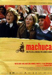 Cartel oficial en español de: Machuca