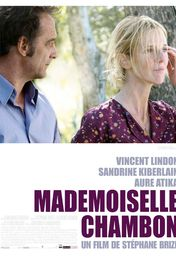 Cartel oficial en español de: Mademoiselle Chambon