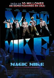 Cartel oficial en español de: Magic Mike