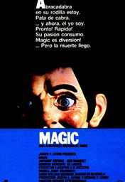 Cartel oficial en español de: Magic